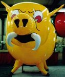 War Pig - cusom War Pig mascot inflatables for events,parades and sales. Rent or Buy!
